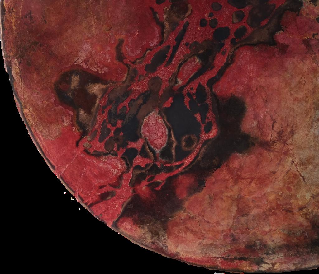 #marble #red #colour #colours #color #colors #moon #planet