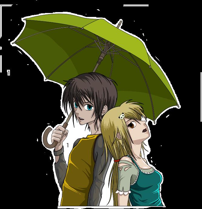 #girlandboyunderumbrella