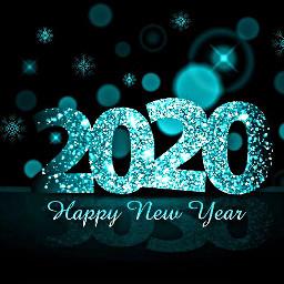 freetoedit remixit happynewyear 2020 teal