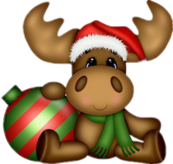 moose christmas freetoedit