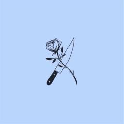 art aestetic tumblr blue rose freetoedit
