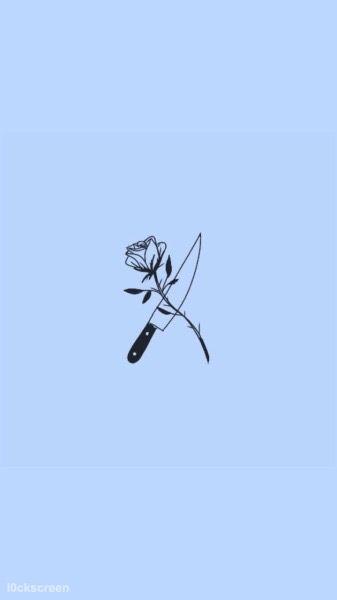 #art #aestetic #tumblr #blue #rose #freetoedit
