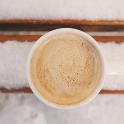 morning cappuccino freetoedit