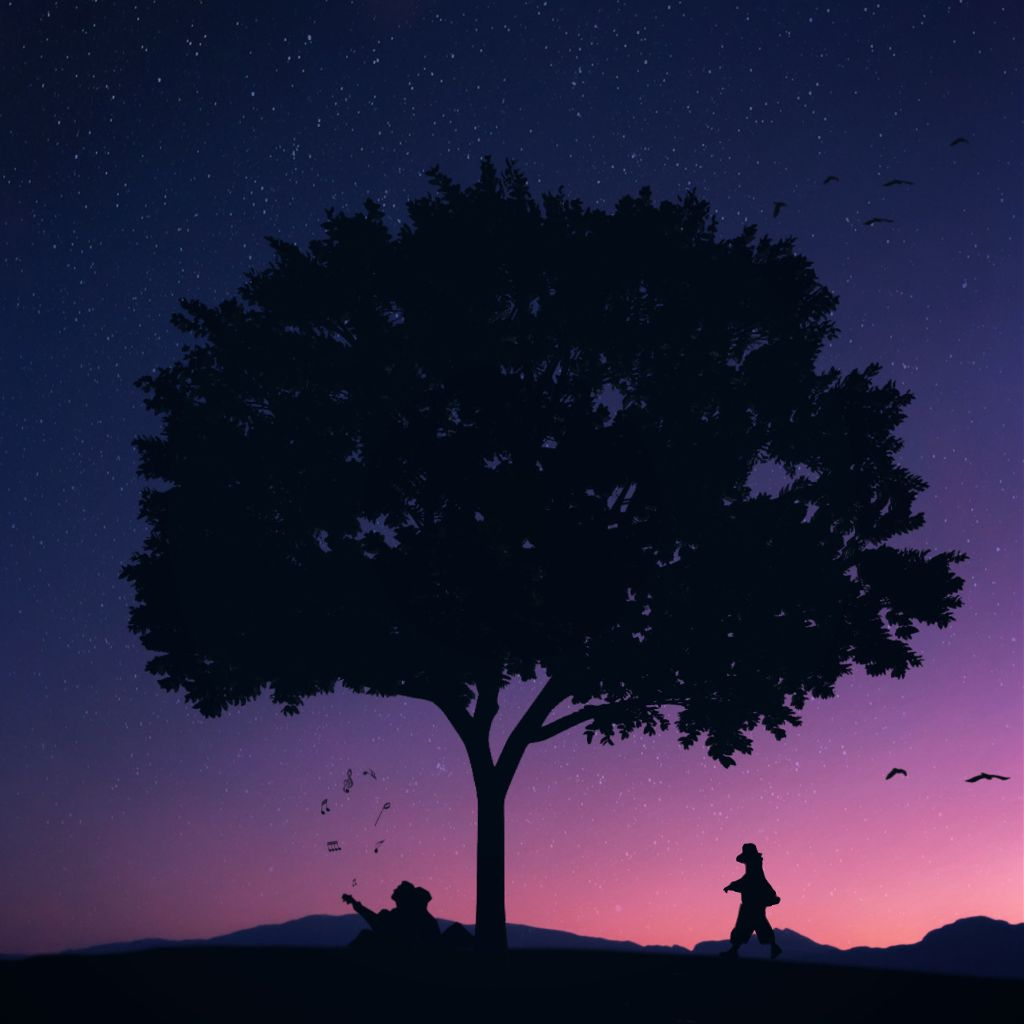 """LeT yOur DreamS BiGGer tHan yOur FeaRs & aCTiOns Be LouDer tHan yOur wOrDs.🕊""     https://m.youtube.com/watch?v=U1WZCFQosJU   .   .   .   #blue #relax #purple #sunset #birds #music #free #madewithpicsart #silhouette #imagination #dream #flyover  #freetoedit #ircwalkingby #walkingby"