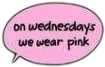 #Jirtee #meangirls #wednesday #pink #stickers #burnbook