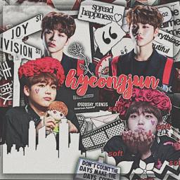 x1 hyeongjun red hyeongjunred edit