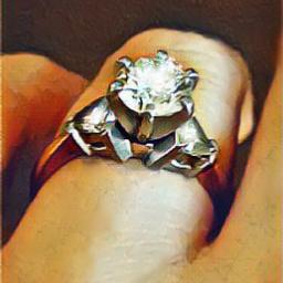 diamond diamondring engagementring freetoedit