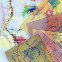 freetoedit postcards letters envelopes