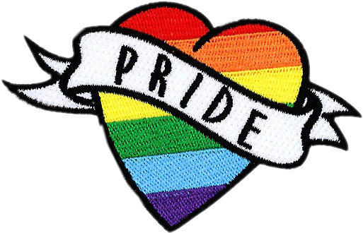 #patch #heart #pride #gaypride #rainbow