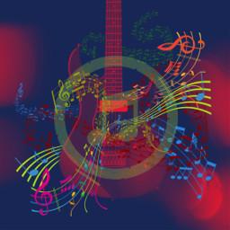 freetoedit music guitar notes melody