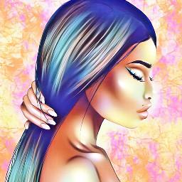 colorfull art artist artisticportrait draw