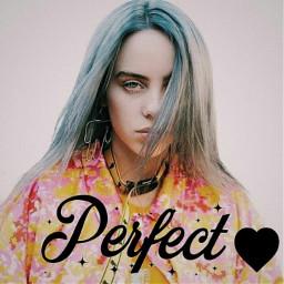 freetoedit billieeilish perfection