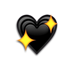 black blackemoji blackheart emoji emojis freetoedit