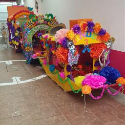 trajineras xochimilco adornos handcraft