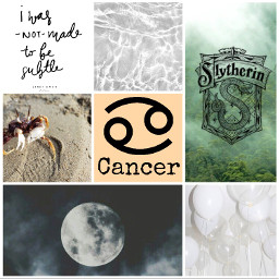 cancer aesthetic zodiacsigns
