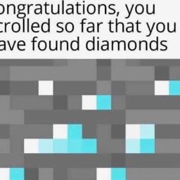 diamonds mincraft minecraftmeme memw