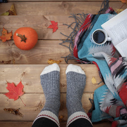 thanksgiving cozy coffee freetoedit
