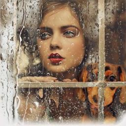 freetoedit window raindrops ecrainyseason rainyseason