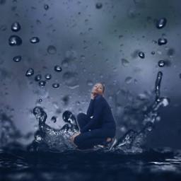 freetoedit raindrops rain ecrainyseason rainyseason