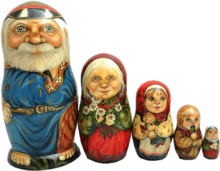 weird nesting doll toy family freetoedit