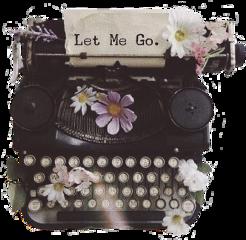 typewriter writer type letters text freetoedit sctypewriter