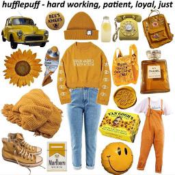 aesthetic harrypotter nichememe nichememes yellow
