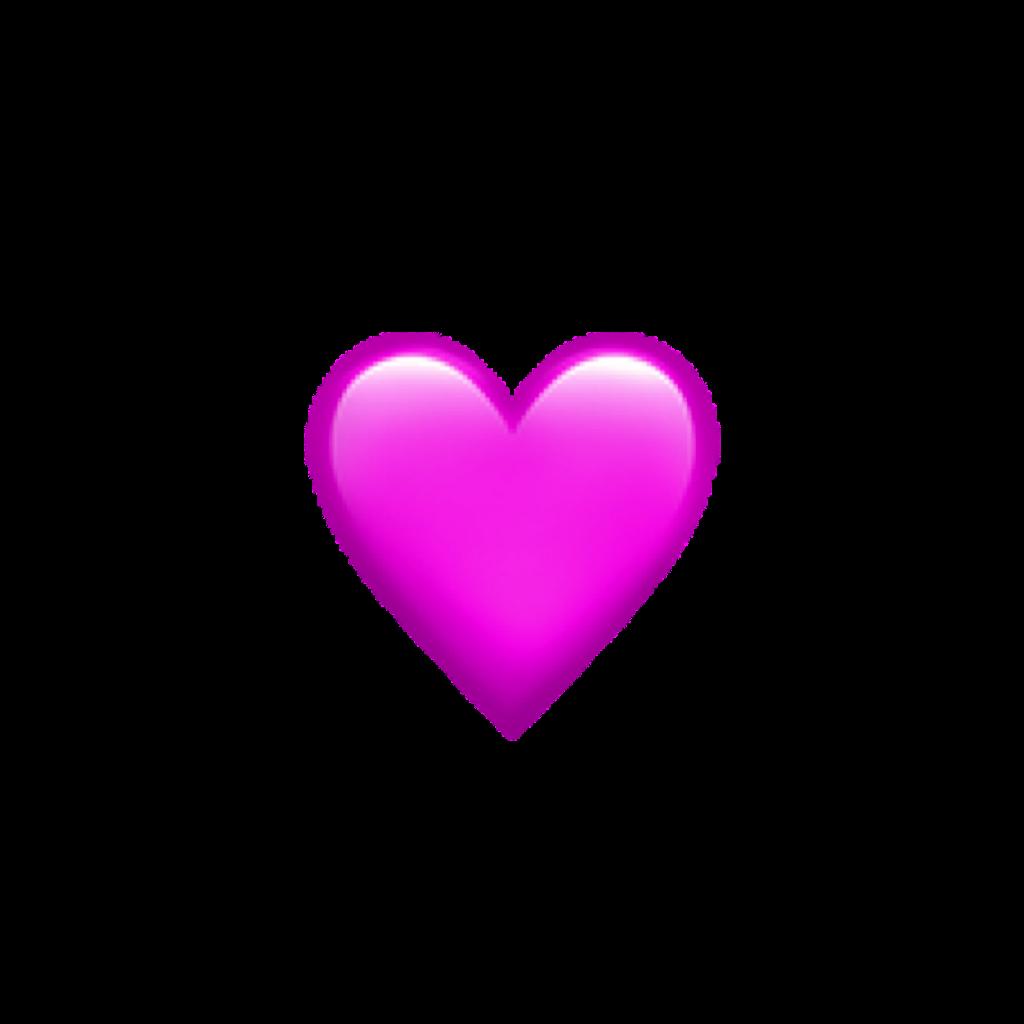 #heart #iphone #emoji #iphoneemoji #pink #purple #iphoneemoji #freetoedit