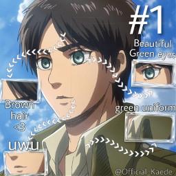 freetoedit erenjaeger iloveyou anime anatomy