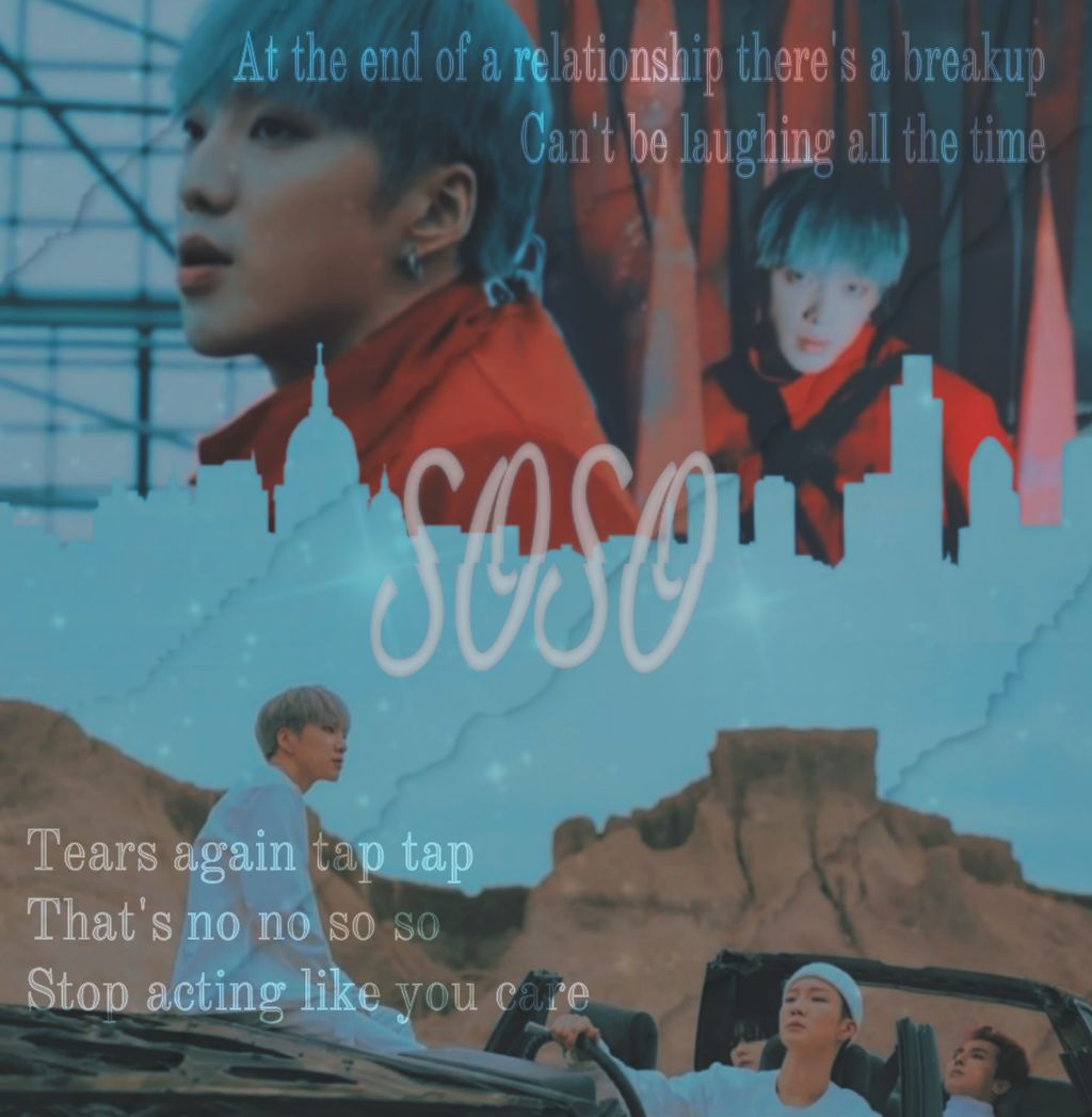 — soso — Hey guys! I'm back! :) This is the second to last edit of this series, and I think I probably should have thought about the image placement before adding text lol! It's quite squished. Hope you like it :)   #freetoedit #winner #kpop #yoon #jinu #hoony #mino #winnerkpop #mvedit