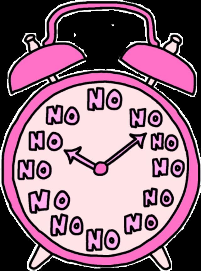 #no #mood #notime #tumblr #clock #freetoedit