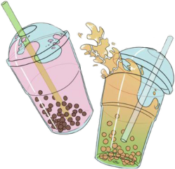 freetoedit drinks bubbletea bobatea drink