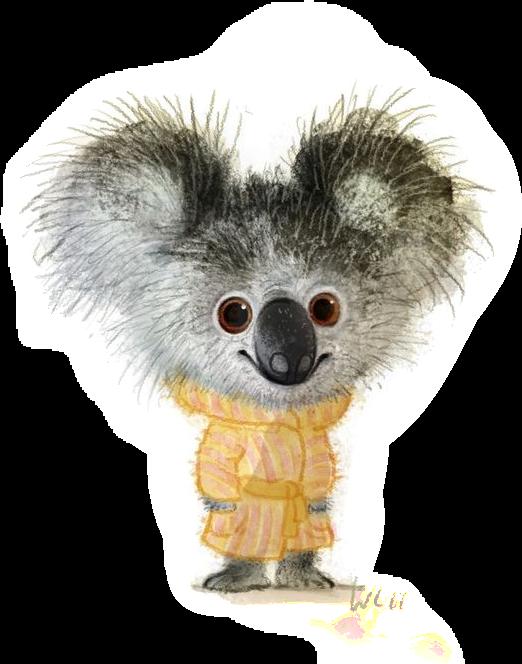 #koala #sweater #autumn #cold #drawing #sketch #cuteanimals #cutepets
