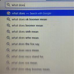 okboomer ok boomer google googlesearch