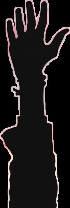 ✋ arm @chiquitacruz silhouette freetoedit handsilhouette