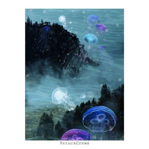 ✨ #doubleexposure #multiexposure #surreal #jellyfish #surrealart #photoedit #photoart #photomanipulation  #freetoedit