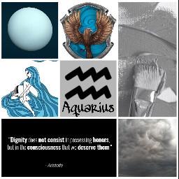 aquarius aesthetic zodiacsigns