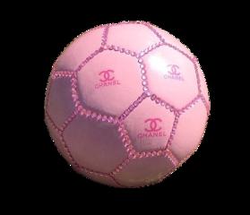 aesthetic pink chanel pinkaesthetic soccer freetoedit