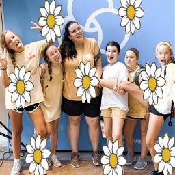 daisies yellowaesthetic churchcamp