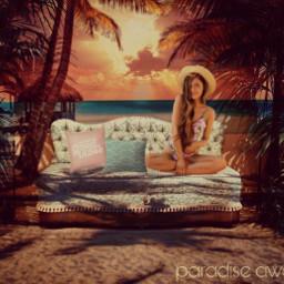 paradise beach goodvibes freetoedit irccoziness coziness