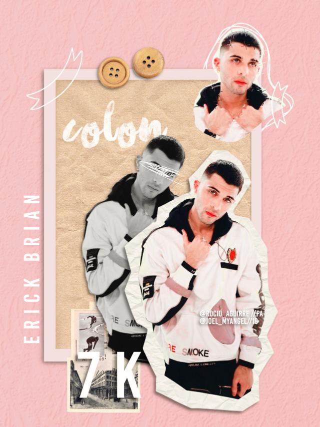 GRACIAS A TODOS POR LOS 7K! 😝❤  Gracias también a @maia-diaz7 y @cncopapuhs por lo de la cuenta fake ❤  Y como pueden ver este es un edit completamente nuevo, eso comprueba que soy yo, Rocio, nadie me hackeo la cuenta  #7k #7kseguidores #cnco #erickbriancolon #erick #erickcnco #edit #myedit #polarr #collage #rosa #pink