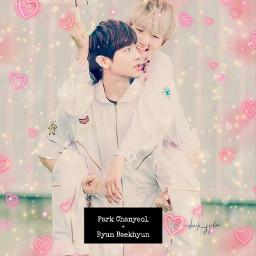 freetoedit chanbaek shipp yaoi kpop