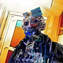robot robotic artisticselfie epic cool freetoedit