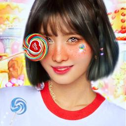 momo twice candy whatislove kpop