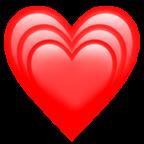 #heart #rojo #corazon #corazones #hearts #red #png #arcoiris #rainbow #raimbow #emoji #emojis #sticker #stickers #new #newemoji #ios #apple #iphone