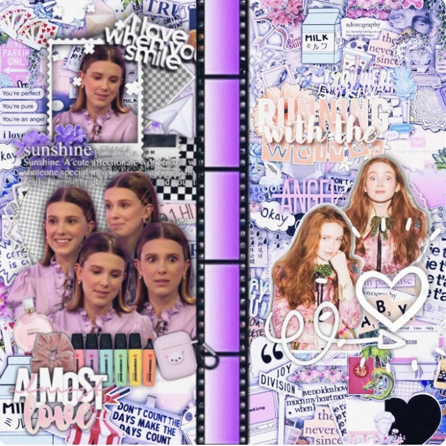 """Open🔓  This is a collab with my bby @wolfhardxangel-fan 💘 I love you so much Angel And I'm so glad to know you and thank you again for your fanpage and your support!💝 - Left Side (Millie): Her Right Side (Sadie): Me - Hope you'll like it💗 - @mills_diamond @grandesmoonlight- @moonlightbaeariii  @glossy_grande   @annacvrp   @hugschnapp  @dreaming-outlines  @editzbyemu @riverdaleorg @florencebymillupdate  @my_icons @milliesmylove   @dreamingmillie  @riverdale2112  @stranger_things186  @cutexwolfhard  @sia_m_  @armyfromuniverse  @dilara14452   @strangerthings_ @stranger_brown_011      @strangerbusters  @-ilumanilemon- @_loser_av_club_ @love_perfection  @millie-011  @theupsidesadie @daydreamxchely @wwe_boss @bocaglow  @haydenannkey @strangerthings333333  @sincerelyrosy @irenicxx @grazerxschnapp- @peachy-grande @elmaxx011 @milliebobbybrown1999 @-glossyedits- @elevenhopper @billies-smile @11milliethings11 @molliegracesecret @armyfromuniverse @arixstrangerthings @coconut-editzz @theblossomqueen1 @rebecca_dsouza @fan_st @invisible_scar_ @millsismybubba @fancybutera @coldbrewcoffe @editz_by_avacado  𝐂𝐮𝐭𝐢𝐞𝐬: @catlovesmills  @aesthetic_billie   𝐒𝐩𝐞𝐜𝐢𝐚𝐥𝐬 𝐟𝐫𝐨𝐦 𝐭𝐡𝐞 𝐒𝐭 𝐆𝐜:  @strangefack @strangewheeler @noahsheart-  𝐅𝐚𝐧𝐩𝐚𝐠𝐞: @wolfhardxangel_fan9 @wolfhardxangelxfan @maxine_lara_ily011 @wolfhardxangel-fan ↑𝐈 𝐥𝐨𝐯𝐞 𝐲𝐨𝐮 𝐀𝐧𝐠𝐞𝐥𝐬!!  𝐁𝐞𝐬𝐭 𝐅𝐫𝐢𝐞𝐧𝐝𝐬:  @mike_el  @ilovemillls @tubulartingz @reddie-shipper @strangerthingz011 @millsxangel ↑𝐋𝐨𝐯𝐞 𝐲𝐨𝐮   𝐁𝐞𝐬𝐭 𝐁𝐞𝐬𝐭 𝐅𝐫𝐢𝐞𝐧𝐝: @011milliethings ↑𝐋𝐨𝐯𝐞 𝐲𝐨𝐮 𝐬𝐨 𝐦𝐮𝐜𝐡   𝐌𝐲 𝐁𝐛𝐲: @serpentswiftie 𝐓𝐡𝐚𝐧𝐤 𝐲𝐨𝐮 𝐟𝐨𝐫 𝐞𝐯𝐞𝐫𝐲𝐭𝐡𝐢𝐧𝐠  -𝟏𝟐.𝟎𝟐.𝟐𝟎𝟏𝟗-  ↑𝐈 𝐥𝐨𝐯𝐞 𝐲𝐨𝐮 𝐰𝐢𝐭𝐡 𝐦𝐲 𝐰𝐡𝐨𝐥𝐞 𝐡𝐞𝐚𝐫𝐭   𝐎𝐧𝐞 𝐧 𝐨𝐧𝐥𝐲: @strangestxmillie ↑𝐋𝐎𝐕𝐄 𝐘𝐎𝐔 𝐓𝐎 𝐓𝐇𝐄 𝐌𝐎𝐎𝐍 𝐀𝐍𝐃 𝐁𝐀𝐂𝐊   Comment """"💜"""" if you want to be on my tag list Comment """"☁️"""" to be removed - #millie #milliebobbybrown #milliebb #milliebrown #milliebobby #mills #sadie #sink #sadiesink #millieandsadie #milliebobbybrownedit #collab #notfreetoedit #givecredit #strangerthings #strangerthingscast #sadiesinkedit  -"""