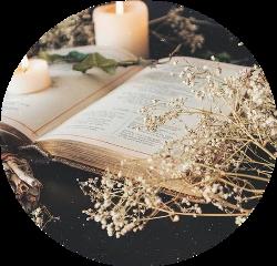 book flowers aesthetic freetoedit