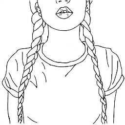 outline plaits dcoutlineart outlineart