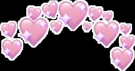 heart pink smile purple stars freetoedit
