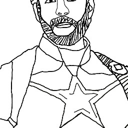 capitanamerica lines draw dcoutlineart outlineart