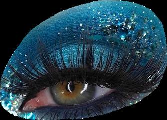 eye eyes eyeaesthetic blueaesthetic blueeyeshadow freetoedit